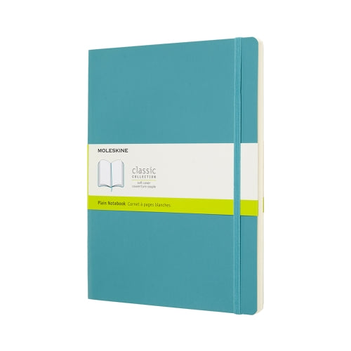 Classic XL Plain Notebook - Reef Blue