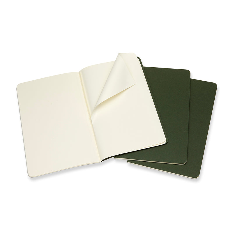 Cahier Large Plain Journal - Myrtle Green