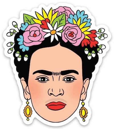 Sticker: Frida Flower Crown