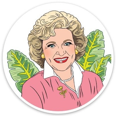 Sticker: Betty White