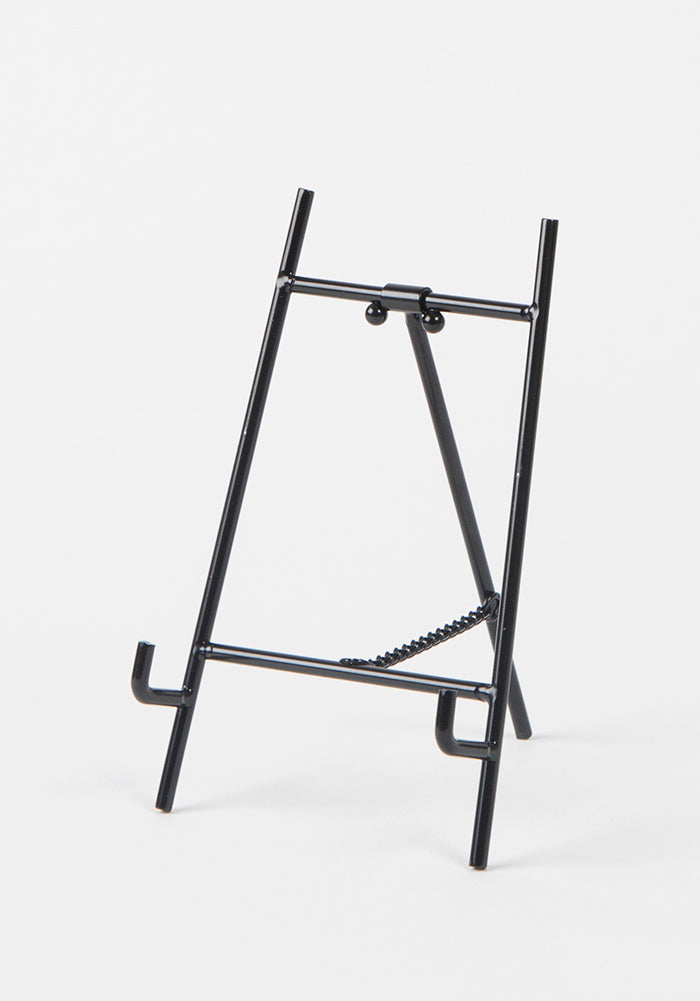 Natural Life Metal Plate Stand - Black