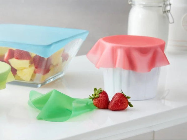 Foodguard Reusable Stretchy Sticky Lids