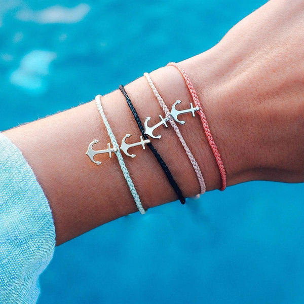 Silver Anchor Bracelet - Assorted