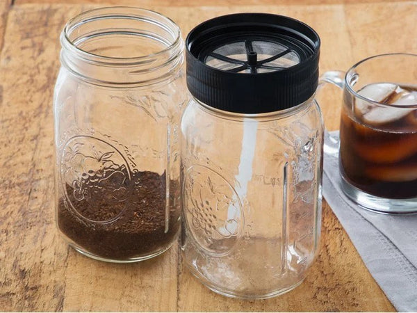 FINAL SALE Grommet Cold Brew Mason Jar Filter