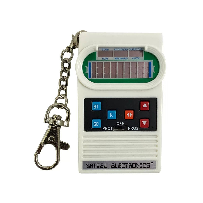 World's Coolest Mattel Electronic Games Football Keychain
