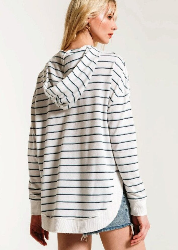 The Sierra Stripe Dakota Pullover