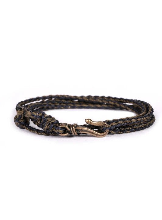 Brown/Navy Rope Bracelet