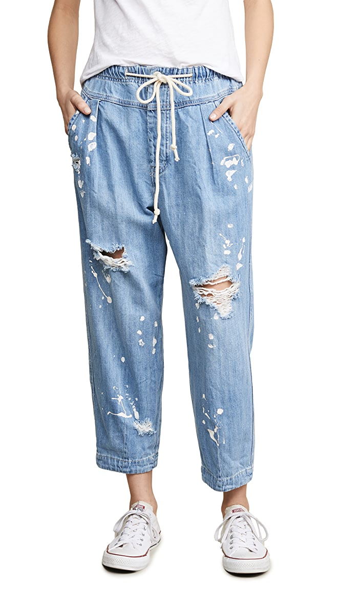 FINAL SALE Mixed Up Utility Jean