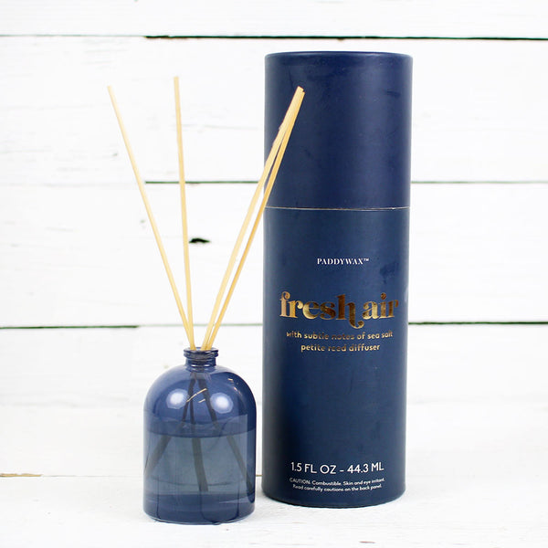 Petite Diffuser 1.5oz Navy Glass - Fresh Air