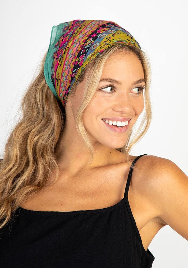 Bandana Scrunchie - Multi