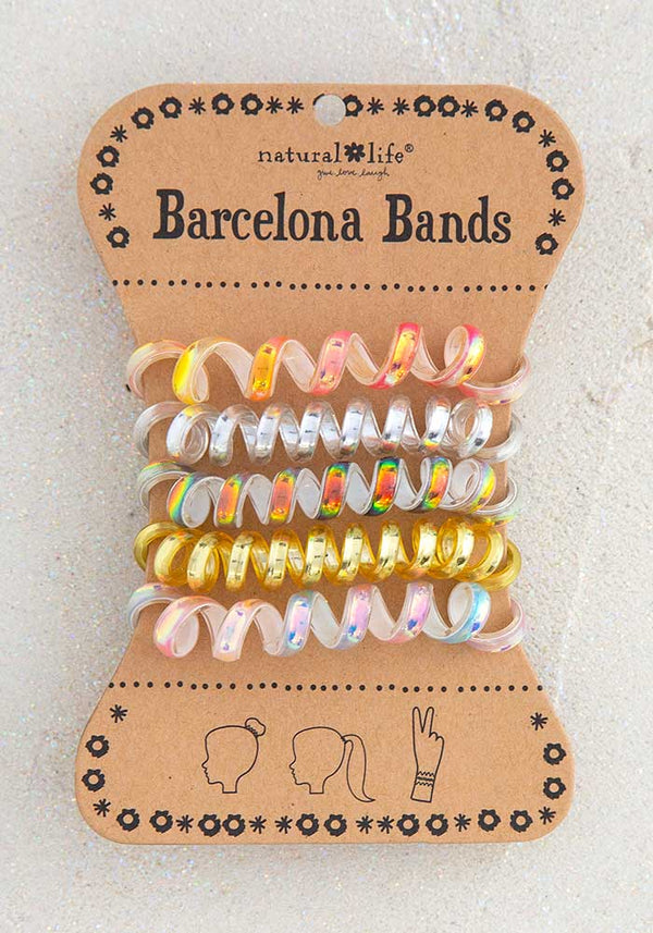 Barcelona Bands Iridescent Gold