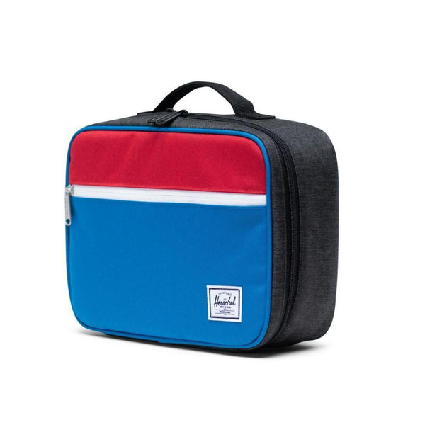 Pop Quiz Lunch Box 600D Poly Imperial Blue/Black