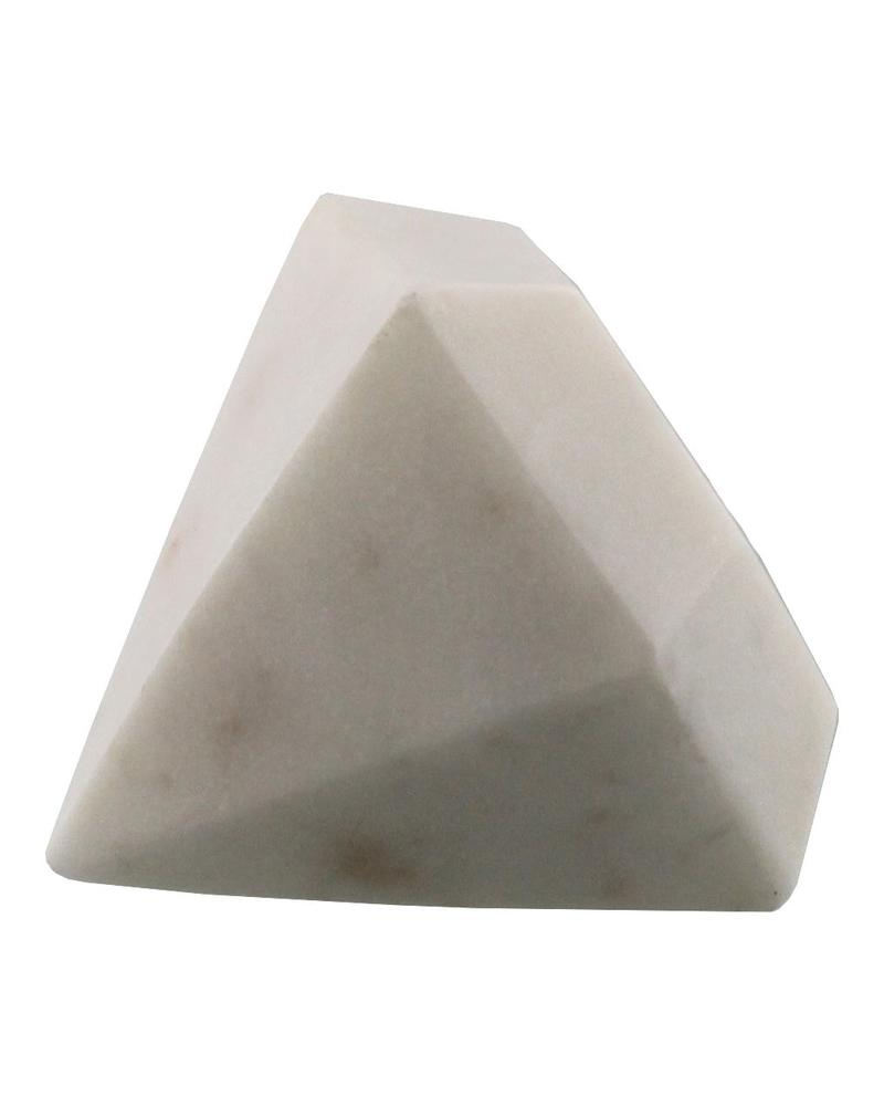 Homart Soapstone Geometric Object - Diamond