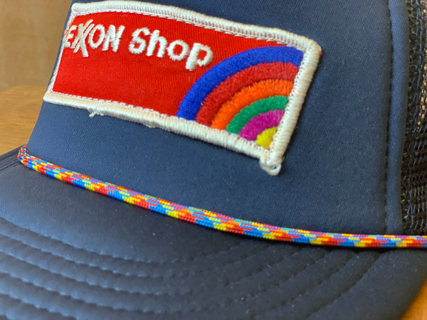 Vintage Exon Shop patch trucker
