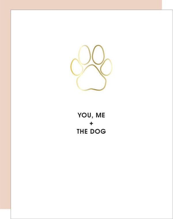 You, Me + the Dog Paperclip Card