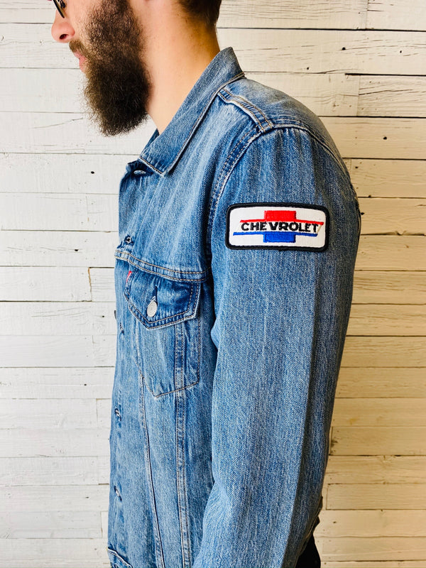 Men's Levi's Trucker: Vintage Patches