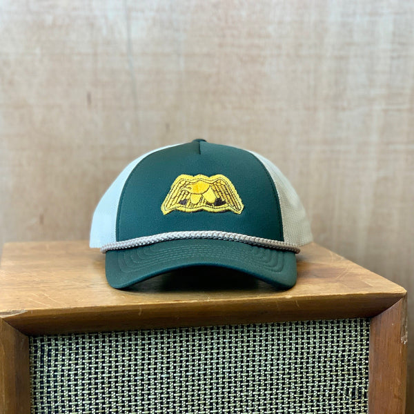 Vintage Military Patch Trucker