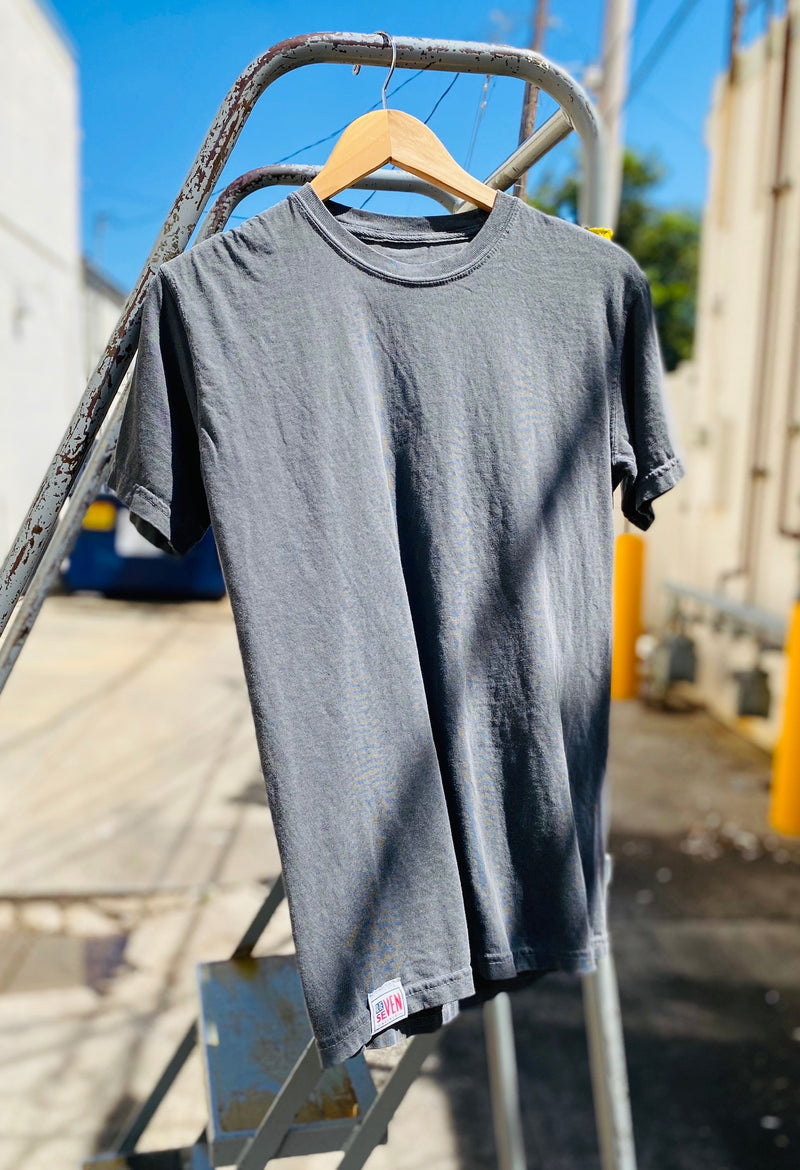 Blue Seven Backed Tee - Regular Fit