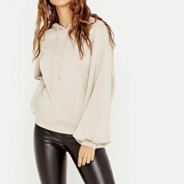FINAL SALE-Hope Puff Sleeve Sweatshirt