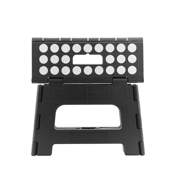 Folding Step Stool - Black