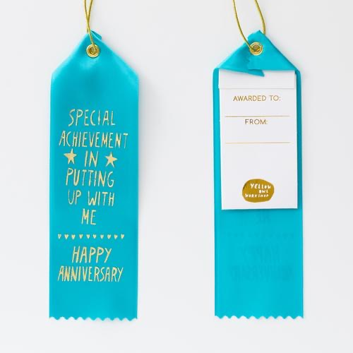 Award Ribbon - Anniversary/Putting Up With Me