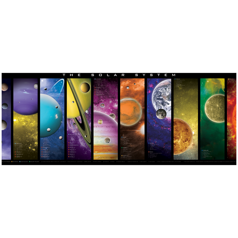 The Solar System 1000PC Puzzle