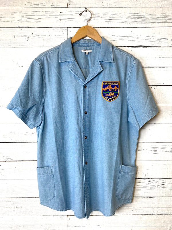 Banks Journal Pocket Chambray: Vintage Patch