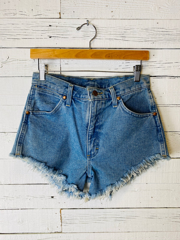 Vintage High Waisted Wrangler Cut Off's