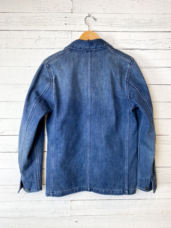 Levi's Fleece Lined Chore Coat: Vintage Patches