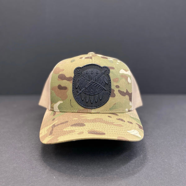 Osage and Camo Hat