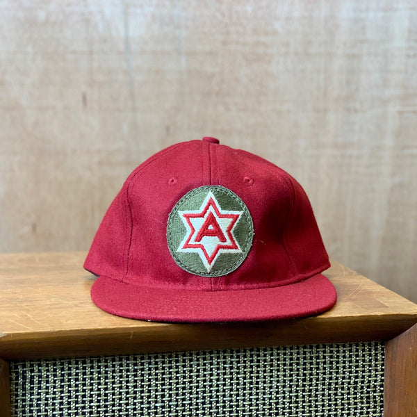 Vintage Military Patch Ebbets hat