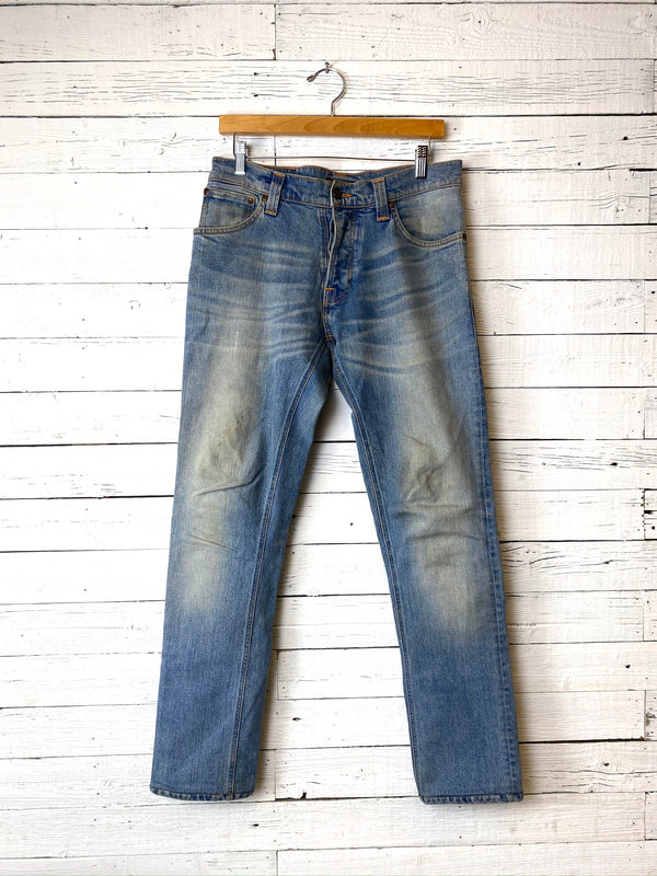 Worn in Nudie Jeans: Grim Tim