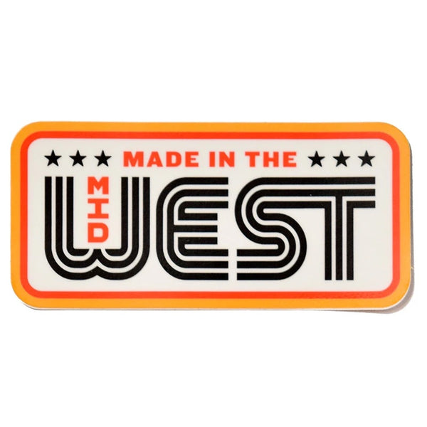 Made In The Midwest Sticker