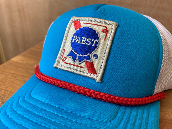 Vintage Pabst Patch Trucker