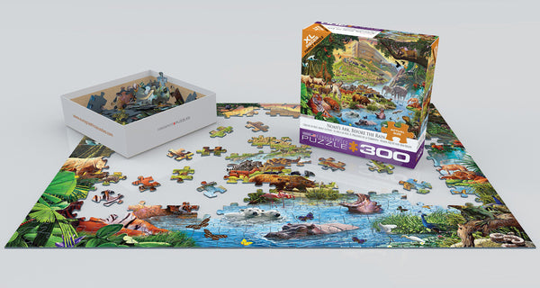 Noah's Ark Before the Rain 300PC Puzzle