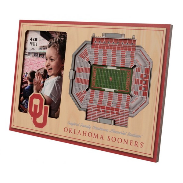 3D Stadium Picture Frame - OU