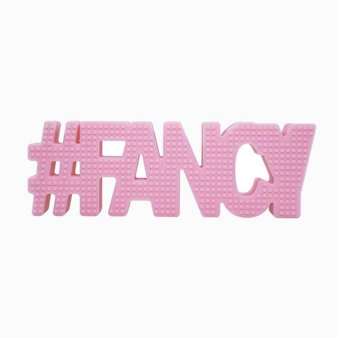 #FANCY Teether (pink)