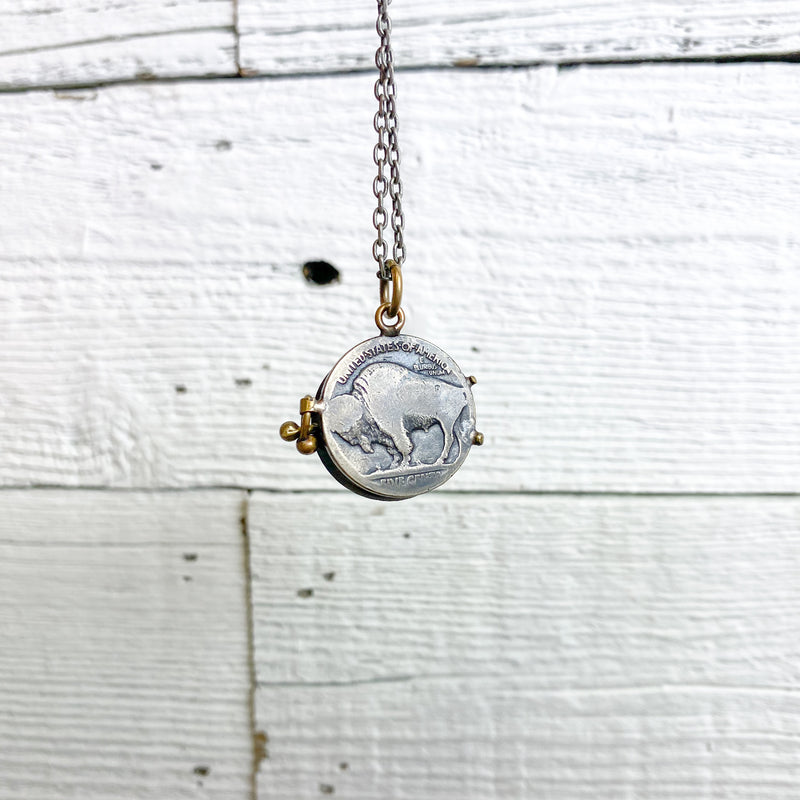 Autopilot Empires Buffalo Nickel Locket