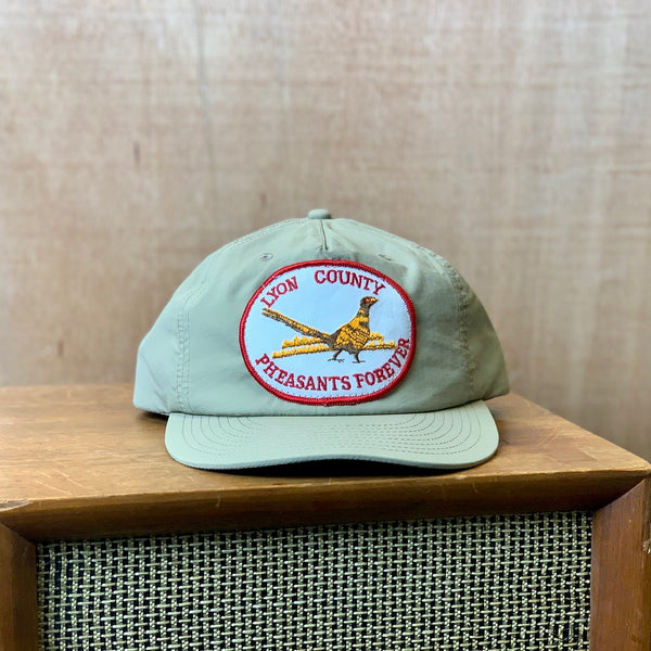 Vintage Pheasants Forever Patch hat