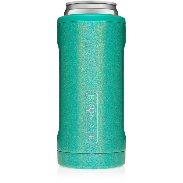 Hopsulator Slim - Glitter Peacock (12oz cans)