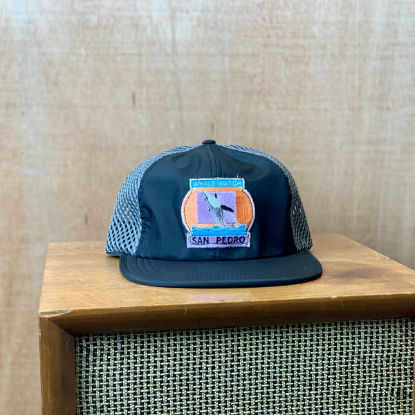 Vintage Whale Watch Patch Cap