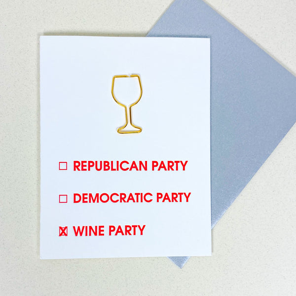 Wine Party Card