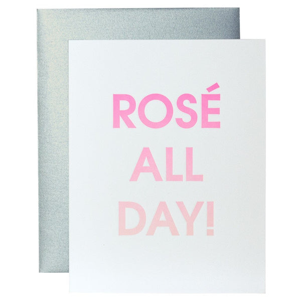 Rose All Day Gradient Card