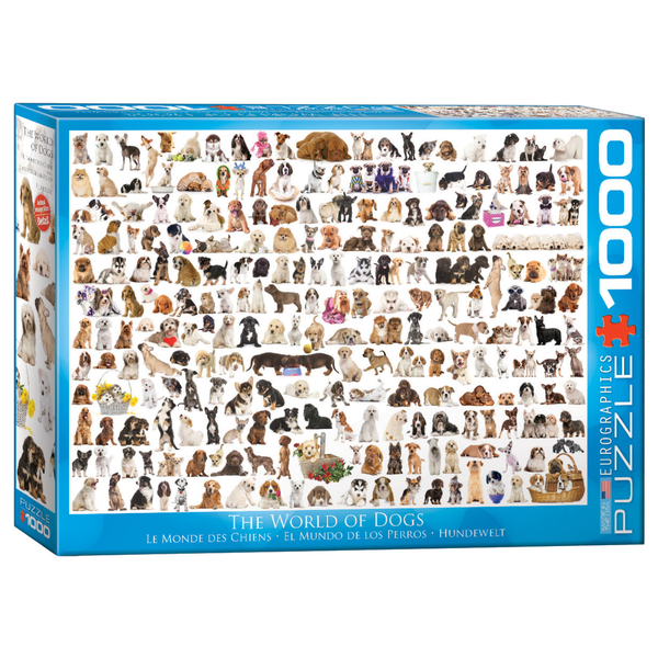 The World of Dogs 1000PC Puzzle