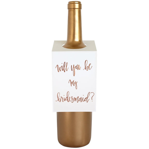 Bridesmaid Wine/Spirit Tag
