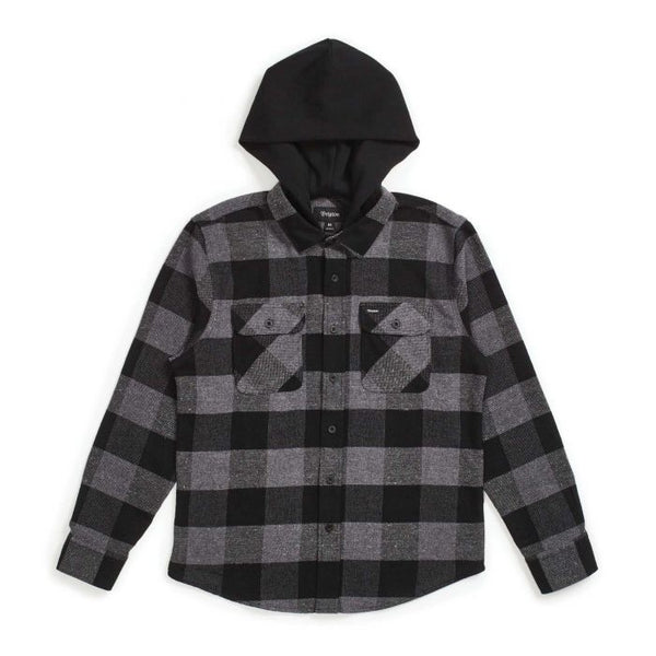 Bowery Hood L/S Flannel