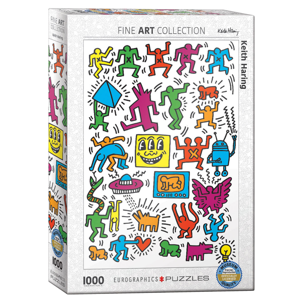 Collage by Keith Haring 1000PC Puzzle