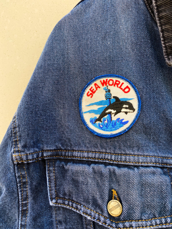 Vintage Girbaud Sea World Patch