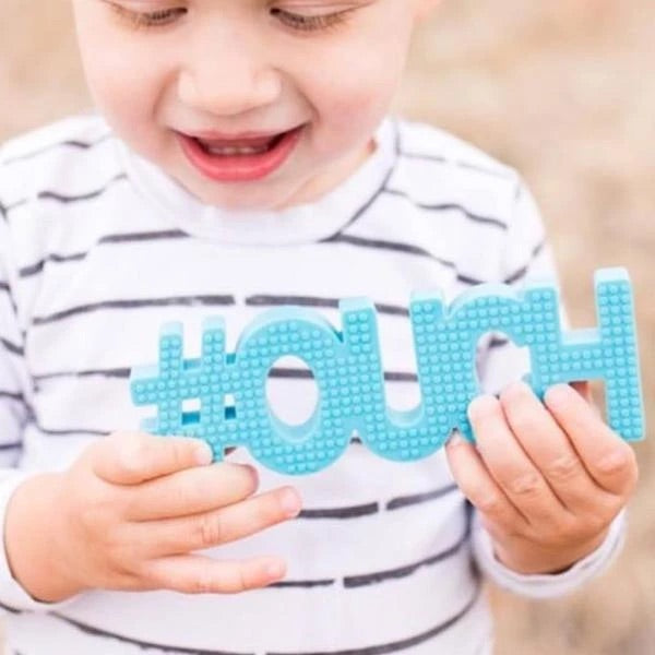 #OUCH Teether (blue)
