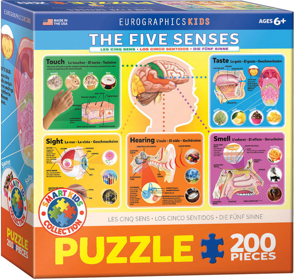 The Five Senses 200PC Puzzle
